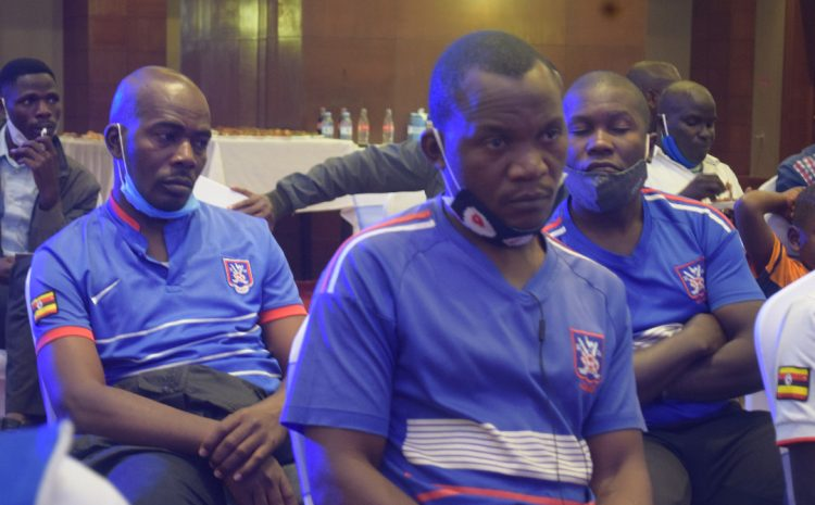 SC Villa fans who attended the meeting at Sheraton Hotel