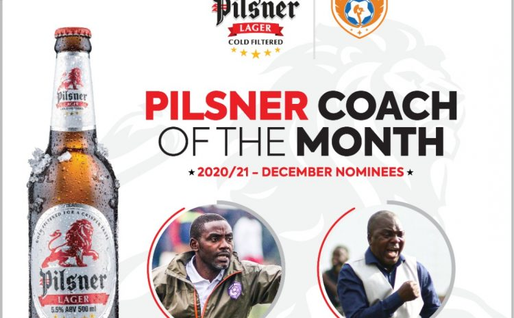 Pilsner/UPL Awards: Kisala Beat Simbwa to be Crowned Coach of December