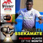 Ssekamate, Baker Mbowa are Pilsner best of April
